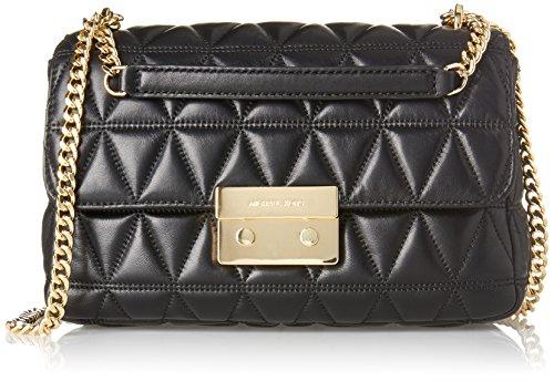 Michael Kors Sloan Shoulder Bag Black (Black)