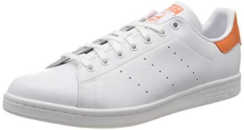adidas Boys' Stan Smith Fitness Shoes, White (Ftwbla/Ftwbla/Nartra 000), 3.5UK Child