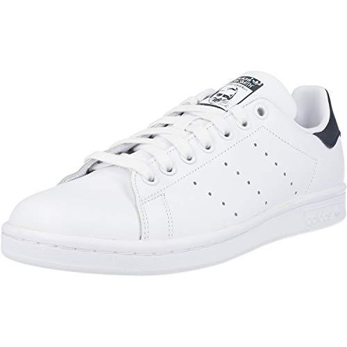 adidas Men's Stan Smith Trainers, - Adult, White Running White New Navy, 9.5 UK