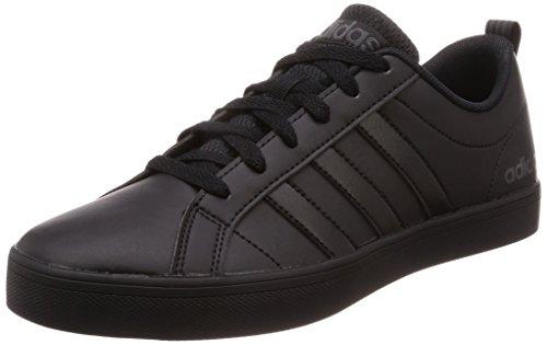 adidas Vs Pace,Men's Low Top Gymnastics,Black (7.5 UK, Black (Core Black/Core Black/Carbon S18 Core Black/Core Black/Carbon S18))