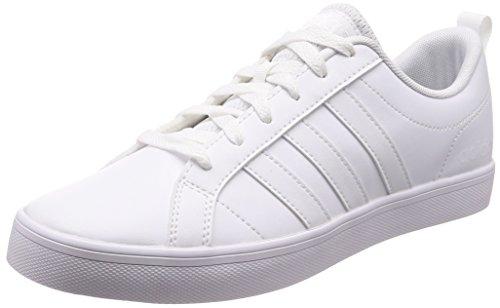 Adidas Vs Pace,Men's Low Top Gymnastics,White (Footwear White/Core Black 0),7.5 UK (41.3333333333333 EU)