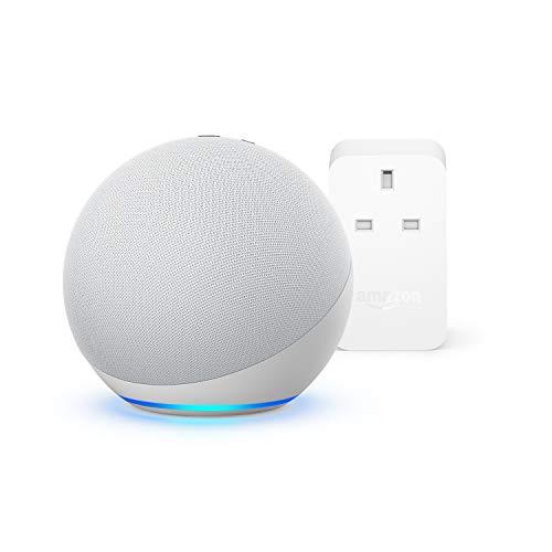 All-new Echo (4th generation) (Glacier White)