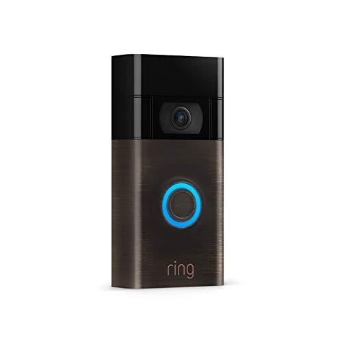 All-new Ring Video Doorbell (Venetian Bronze, Device only)