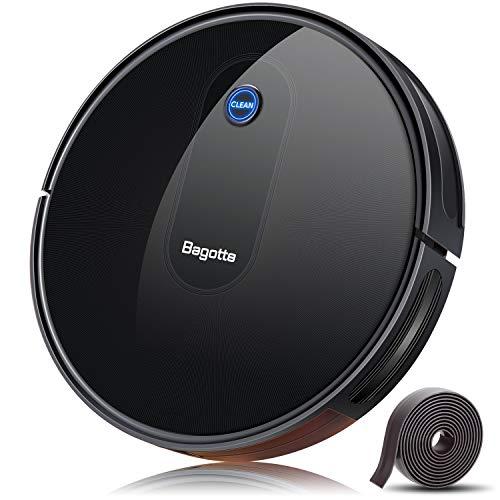 Bagotte BG600 Robot Vacuum with 1500Pa Suction