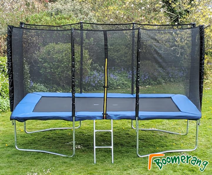 Boomerang Rectangular 9x14ft Boomerang Plus trampoline