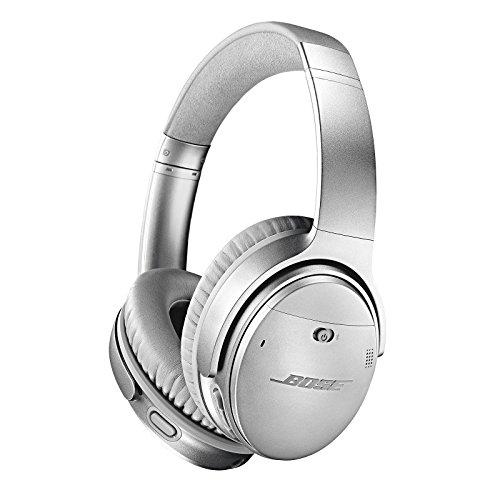Bose QuietComfort 35 (Series II) Wireless Headphones, Noise Cancelling with Amazon Alexa - Silver