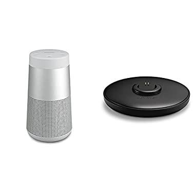 Bose SoundLink Revolve Bluetooth Speaker Lux Grey - with Charging Cradle