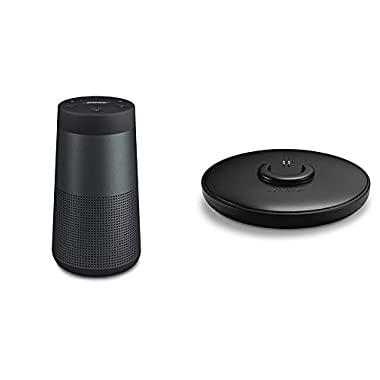 Bose SoundLink Revolve Bluetooth Speaker Triple Black - with Charging Cradle