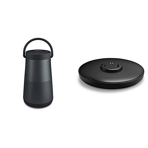 Bose SoundLink Revolve Plus Bluetooth Speaker Triple Black - with Charging Cradle