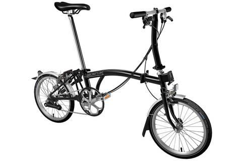 Brompton S6L 2019 Folding Bike (Black)