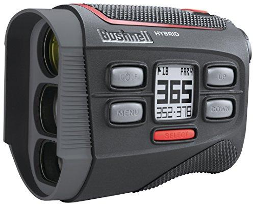 Bushnell Hybrid Laser Rangefinder + GPS Black