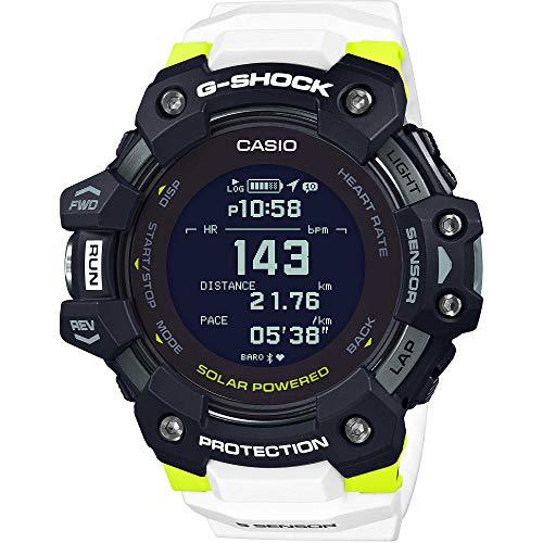 Casio G-Shock G-Squad GBD-H1000-1A7ER - 2020 (Black With White)