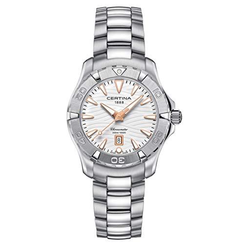 Certina Women's DS Action 34.3mm Steel Case Quartz Watch C032.251.11.011.01