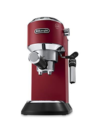 De'Longhi, Dedica Style Traditional Barista Pump Espresso Machine, Coffee and Cappuccino Maker, EC685R, Red