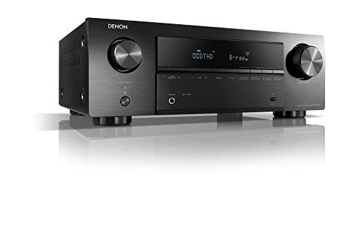 Denon AVR-X550BT 5.2 Av-Receiver 5x130W Black 4K UltraHD, Bluetooth, USB