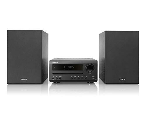 Denon DT-1 - Hi-Fi Mini System with FM/AM, CD and Bluetooth - Black