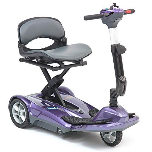 Drive Self Folding 4mph Mobility Scooter,Purple