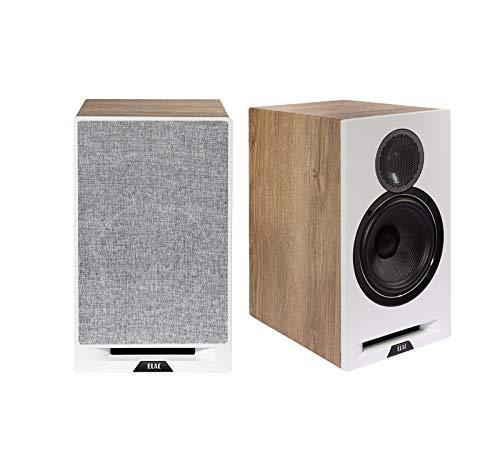 Elac Debut Reference DBR62 Pair of Bookshelf Speakers (Oak/White) (Oak / White)