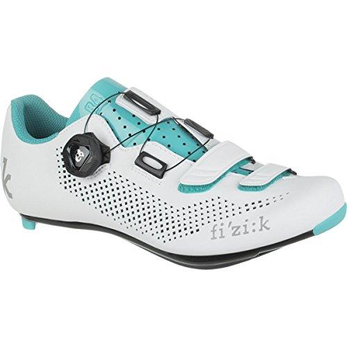 Fizik R4B Ladies Road Shoe (White/Grey, 37.5)