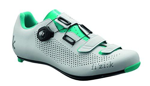 Fizik R4B Ladies Road Shoe (White/Grey, 42)