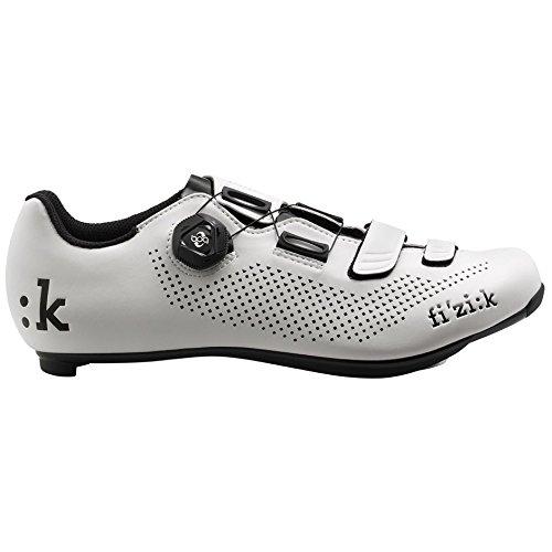 Fizik R4B Uomo BOA Carbon, White/Black, Size 45
