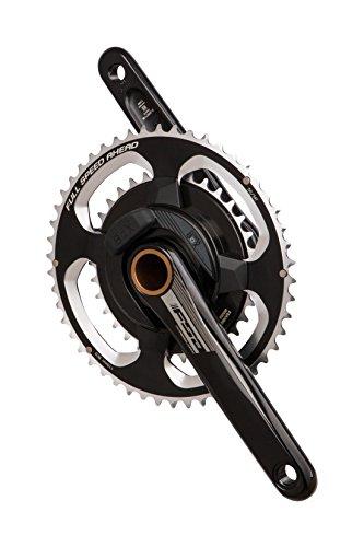 FSA Powerbox Alloy Powermeter Chainset - 50/34 | Black/Grey - 170mm