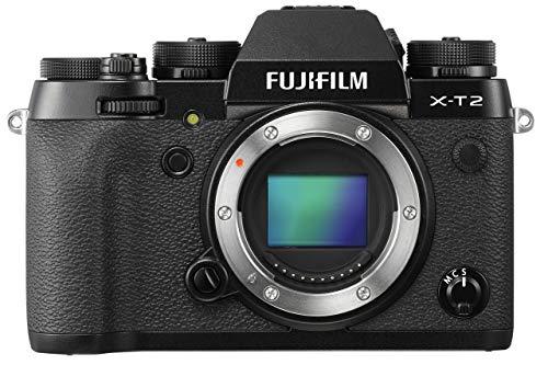 Fujifilm X-T2 Body Only (Digital Camera, Black)