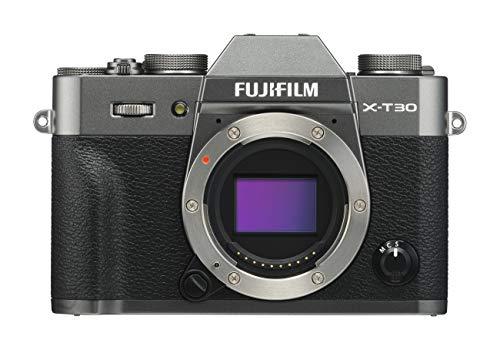 Fujifilm X-T30 Mirrorless Digital Camera, Charcoal Silver