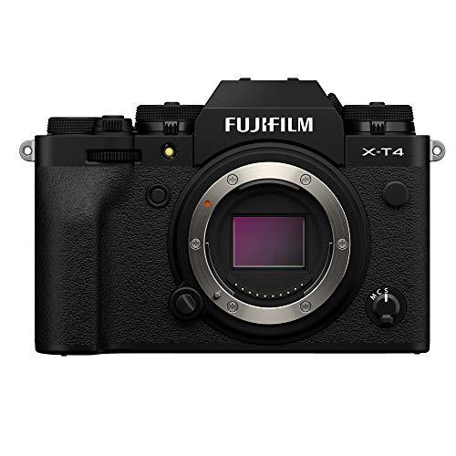 Fujifilm X-T4 Mirrorless Digital Camera, Black