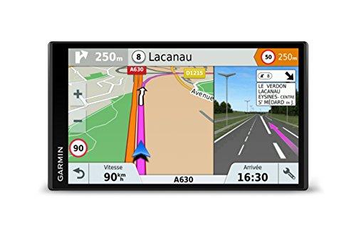 Garmin DriveSmart 61LMT-S Sat Nav with Lifetime Map Updates, Free Live Traffic