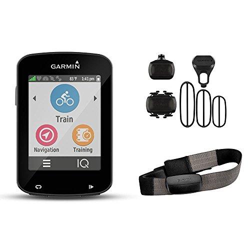 Garmin Edge 820 Bundle with Heart Rate Monitor and Speed/Cadence Sensor