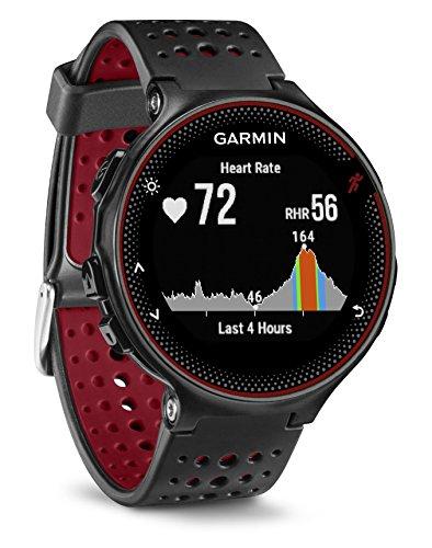 Garmin Forerunner 235 GPS Running Watch (Black/Red)