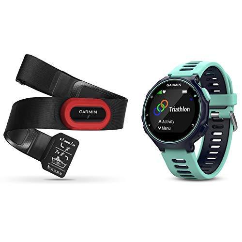 Garmin Forerunner 735XT GPS Watch HRM Bundle | Blue