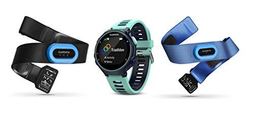 Garmin Forerunner 735XT GPS Watch Tri Bundle | Blue