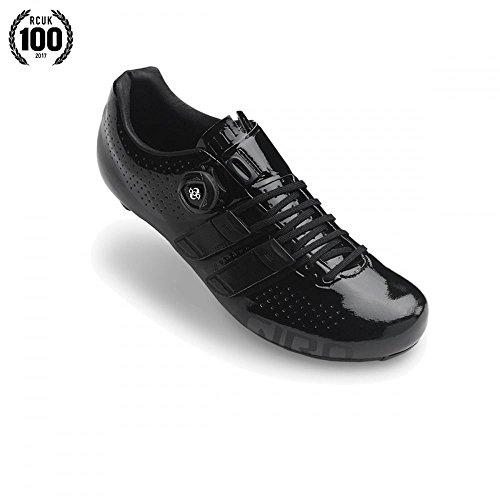 Giro Factor Techlace Road Shoes | Black - 47