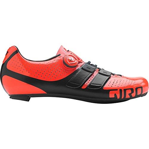 Giro Factor Techlace Shoes Vermillon / Black 39