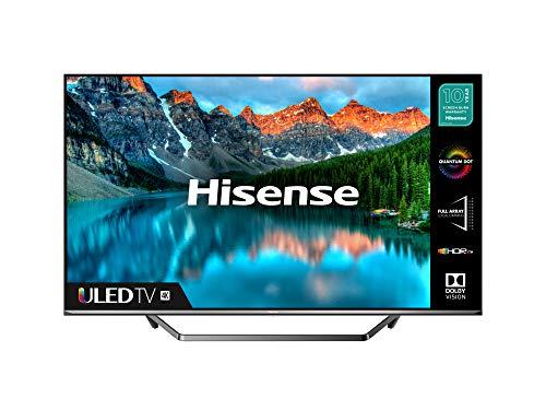 HISENSE 65U7QFTUK Quantum Series 65-inch 4K UHD HDR Smart TV with Freeview play, and Alexa Built-in (2020 series) (2020 Model, 65 Inch)