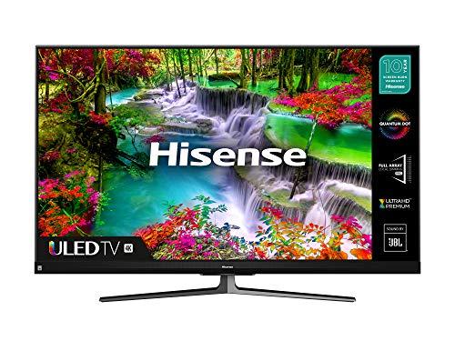 HISENSE 65U8QFTUK Quantum Series 1000-nit 65-inch 4K UHD HDR Smart TV with Freeview play, and Alexa Built-in (2020 series) (2020 Model, 65 Inch)