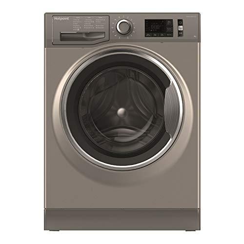 HOTPOINT NM11 946 GC A UK 9 kg 1400 Spin Speed Washing Machine - Graphite, Graphite