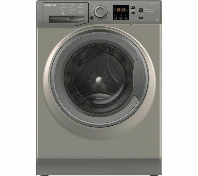 Hotpoint NSWR 963C GK UK 9 kg 1600 Spin Washing Machine - Graphite, Graphite