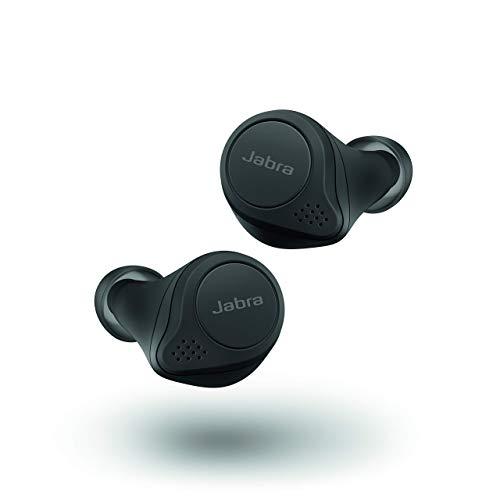 Jabra Elite 75t Alexa Built-in True Wireless Bluetooth Earbuds with Charging Case, Black