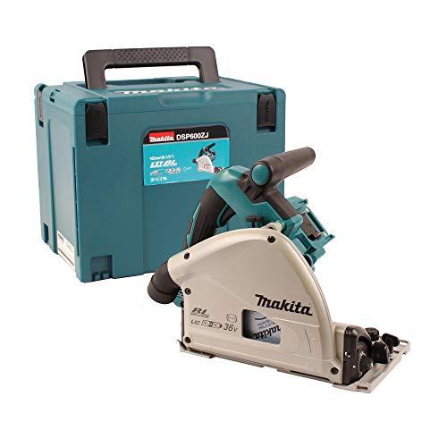 Makita DSP600ZJ BL LXT Plunge Saw-Multicolour 230 mm 36 V