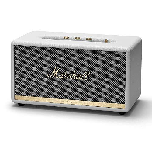 Marshall MRL1001903 Stanmore II Bluetooth Speaker - White