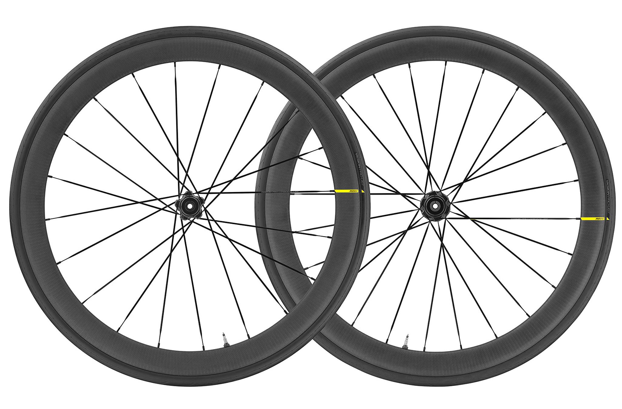 Mavic Cosmic Pro Carbon UST Tubeless Disc Brake 700c Road Wheelset (Black)