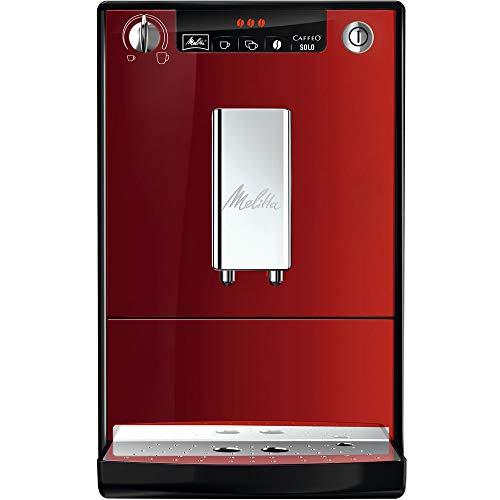 Melitta Caffeo Solo E 950-104 1400 W Automatic Espresso Machine 15 Bar - Red