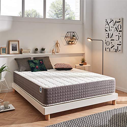 naturalex EXTRAFRESH Urban Living Bio Memory Foam Extra Firm Mattress (Height 30cm, Size 80x190cm)