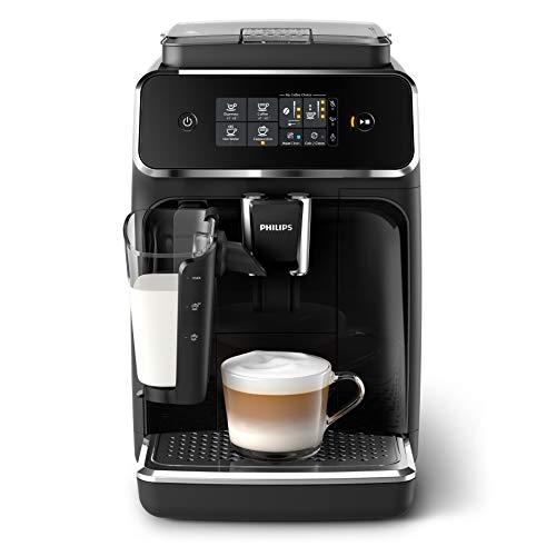 Philips EP2231/40 coffee maker Countertop Espresso machine 1.8 L Fully-auto EP2231/40, Countertop, Espresso machine, 1.8 L, Built-in grinder, 1500 W, Black
