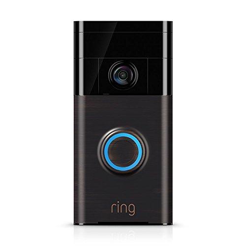 Ring Video Doorbell | HD video doorbell with motion-activated notifications and two-way talk (Venetian Bronze)