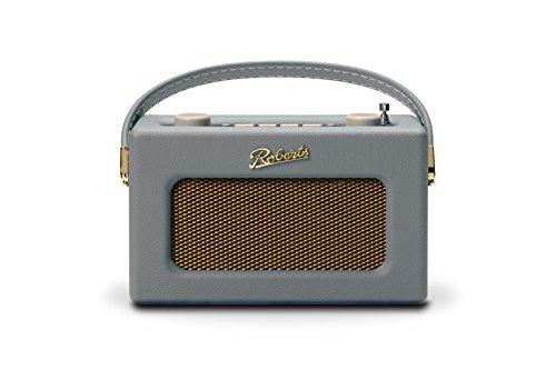 Roberts Revival Uno Compact DAB/DAB+/FM Digital Radio with Alarm, Dove Grey