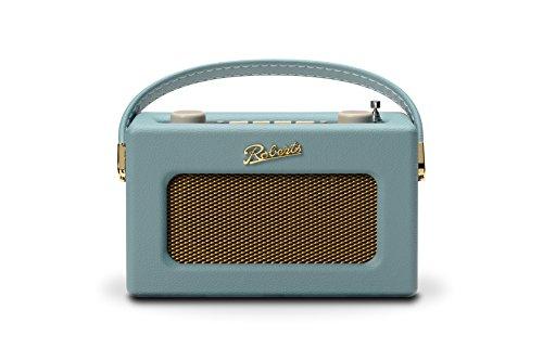 Roberts Revival Uno Compact DAB/DAB+/FM Digital Radio with Alarm, Duck Egg